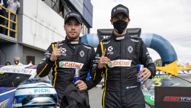 Pernía y García hablaron luego de los 200Km de Buenos Aires del Súper TC2000