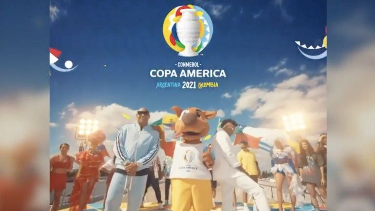 Presentaron la canción de la Copa América, con un imperdonable error