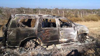 horror en mexico: hallan 19 cuerpos calcinados en un camino