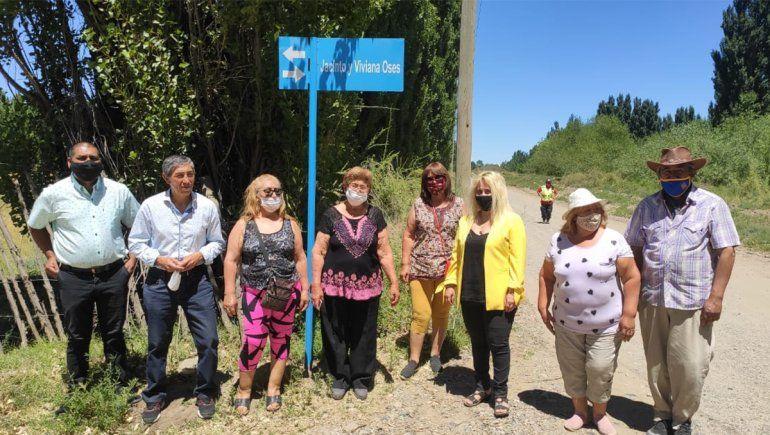 Senillosa: 21 calles llevan nombres de antiguos pobladores
