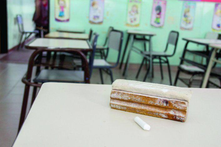 Las escuelas tuvieron las aulas vacías este año, producto de la pandemia.