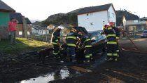 bomberos sin agua: desde hace dos anos, reclaman conexion al epas
