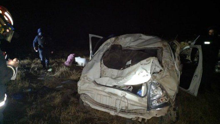 Una familia cipoleña sufrió un brutal vuelco camino a El Cholar