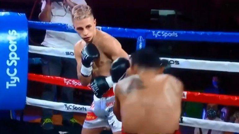 El nocaut del Avión Gauto, la máxima esperanza del boxeo argentino