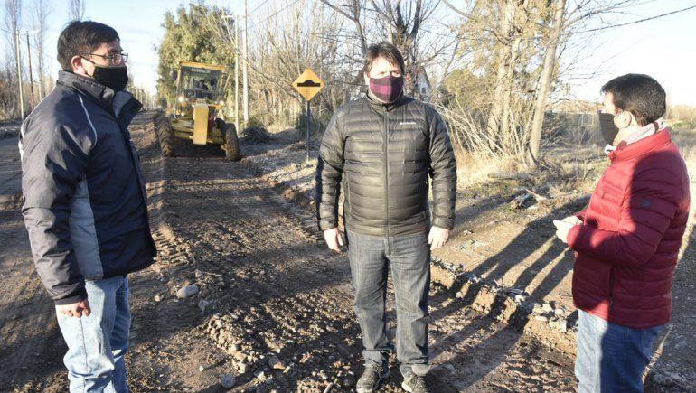 La Muni reparará en 10 días las calles afectadas por la lluvia