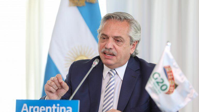 G20: Alberto pidió atacar la desigualdad y hacer un mundo más equilibrado