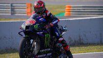 Quartararo se impuso en la clasificación del MotoGP y logró su pole position número 12 en la categoría.