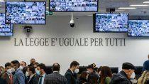 italia: comenzo un megajuicio contra la mafia ?ndrangheta