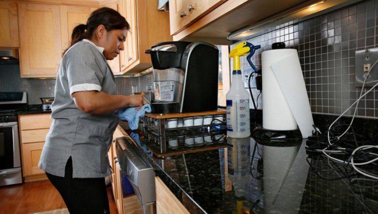 Despiden al 30% de las domésticas por la pandemia