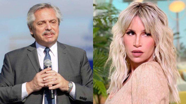 Denuncian penalmente a Florencia Peña por la visita al presidente en Olivos