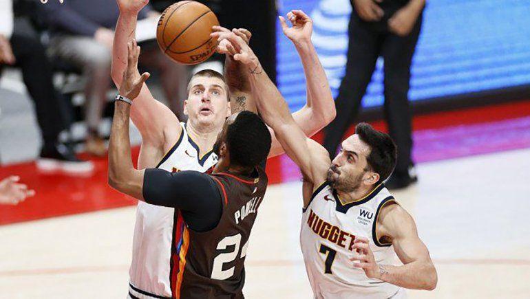 NBA: Campazzo y los Nuggets a semifinales del Oeste
