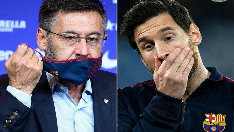 La salida de Bartomeu significa un alivio para Messi