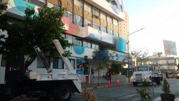 La Cámara de Contenedores reclama frente al municipio Municipalidad