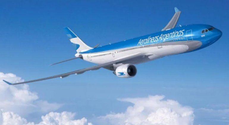 Aerolíneas Argentinas realizará 52 vuelos internacionales en noviembre