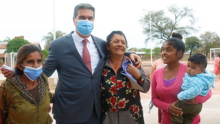 Tenso cruce entre Capitanich y un grupo de docentes en Chaco