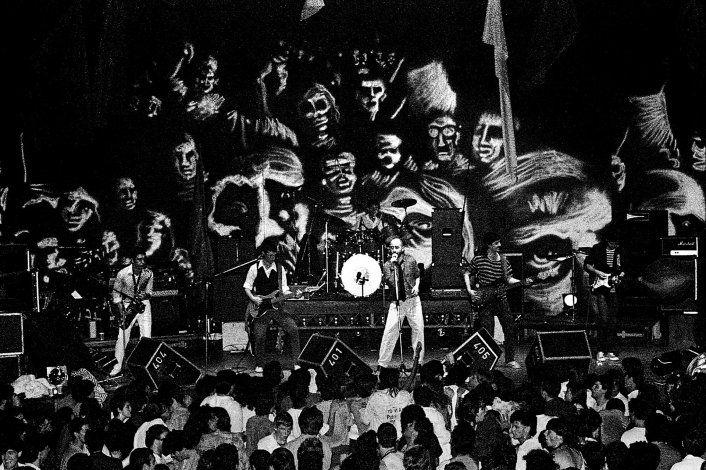 Aquella noche del 18 de octubre de 1986 en Paladium hubo 1200 personas y mucha gente que se quedó afuera.