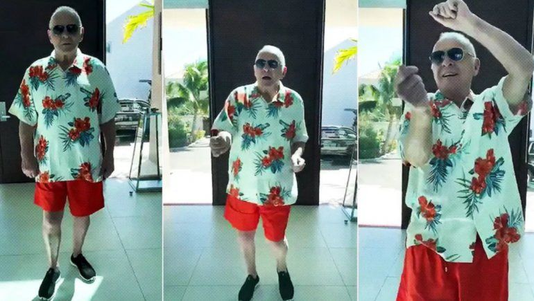 Anthony Hopkins: de actor a bailarín en Twitter
