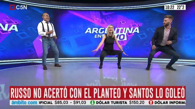 Elio Rossi y Mariela Fernández ahora se burlaron de la caída de Boca con un baile