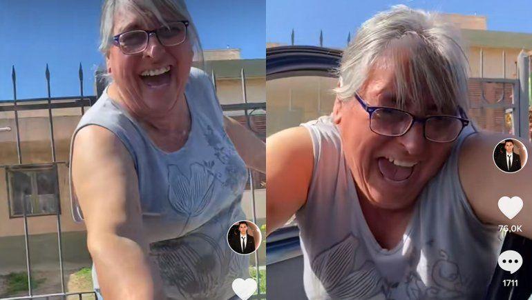El valletano que es viral en Tik Tok: se compró su primer auto y sorprendió a su mamá