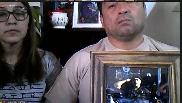 Familiares de Nahuelcar reclaman justicia.
