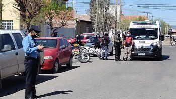 Chocó en un auto robado tras un raid delictivo en el Oeste neuquino