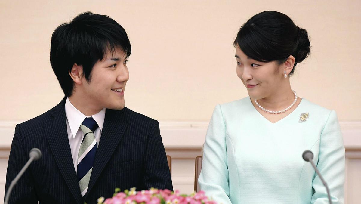 la princesa japonesa mako dejo la realeza por amor