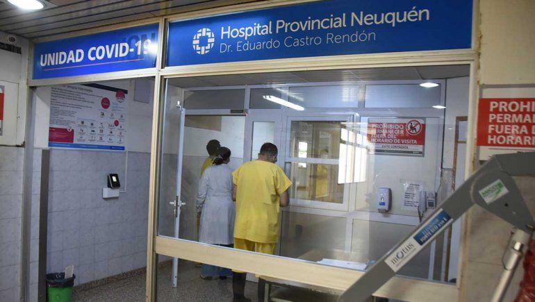 Lammel: En el Castro Rendón están todas las camas de terapia intensiva ocupadas