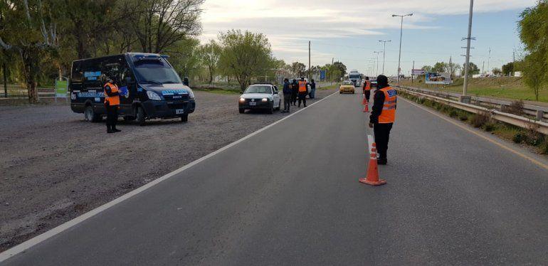 La Federal realiza controles preventivos en Ruta 7