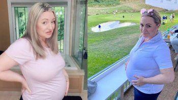 era imposible pero quedo embarazada a los 62 anos