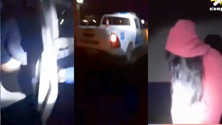 Chaco: filmaron a dos policías mientras abusaban de una menor en un patrullero