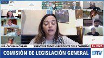 diputados: sesiona la comision de legislacion general