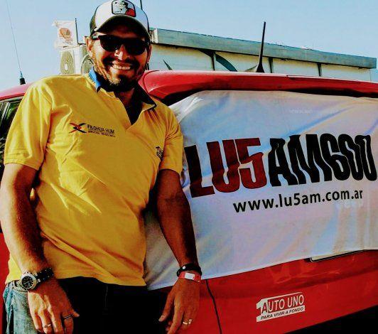 Tomás Gómez, periodista de LU5 y especialista en fierros.