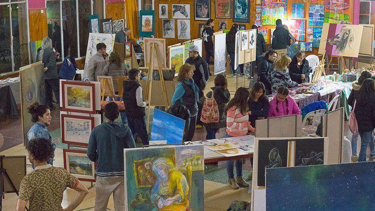 Las Lajas les hizo un lugar a artistas de toda la región