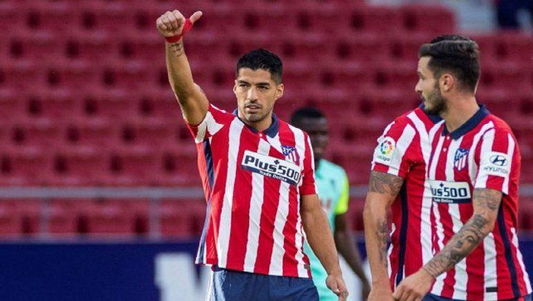 Luis Suárez se perderá el partido contra el Barcelona.