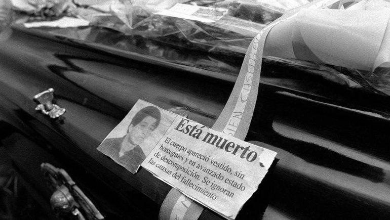 A 27 años del hallazgo del cuerpo de Omar Carrasco