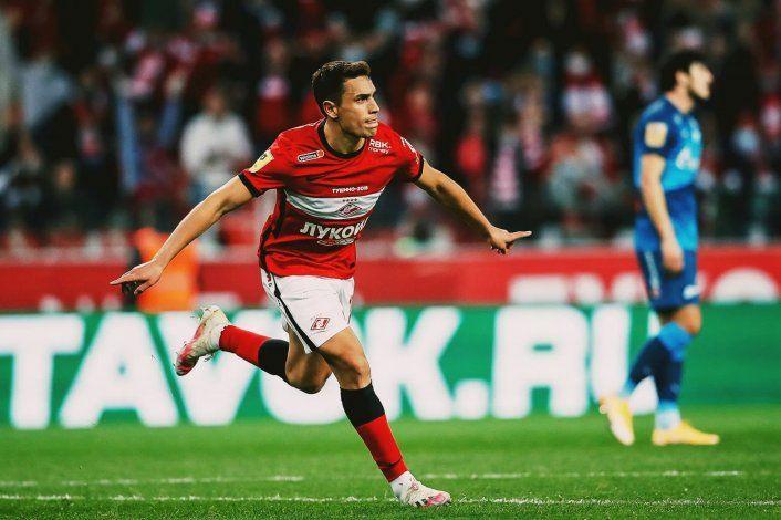 Insólita carambola dentro del área, VAR y gol de un argentino en Rusia