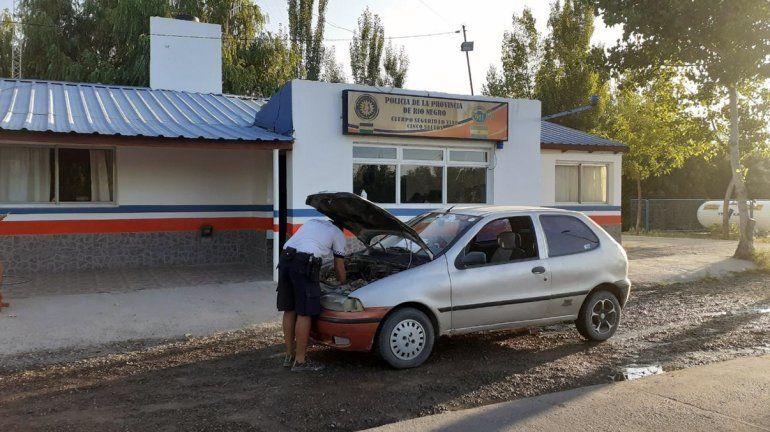 Cinco Saltos: secuestraron un auto robado en Neuquén