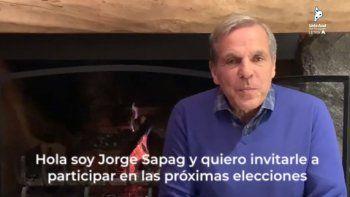 En un video, Jorge Sapag convocó a votar por Mage Ferraresso