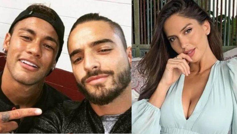 Maluma cerró su Instagram tras la burla de Neymar sobre su ex novia