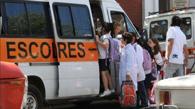 El transporte escolar sólo pagará la mitad de la patente en 2021