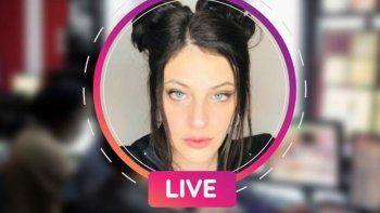 instagram live con cami canziani: hoy lula rosenthal