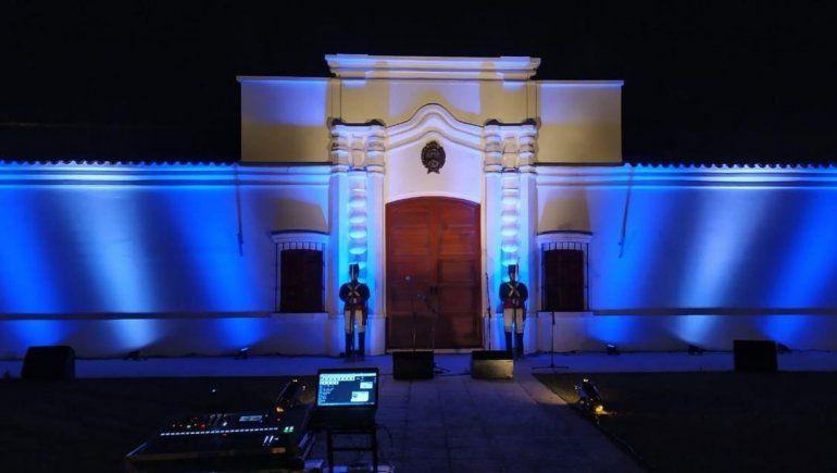 Senillosa celebró el 9 de julio en la réplica de la Casa de Tucumán