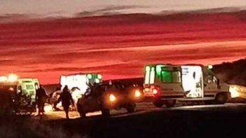 Tragedia en la Ruta 151: tres personas murieron en un choque frontal