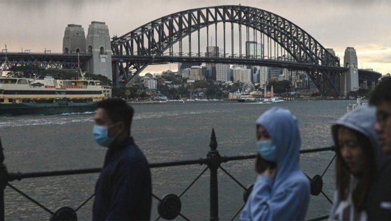 Australia aísla casi toda Sydney por un foco de la temida variante Delta