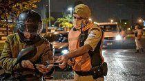 fuerzas federales controlan el cumplimiento de las medidas contra el covid