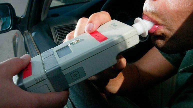 Controles: descendieron las alcoholemias positivas en un 50%