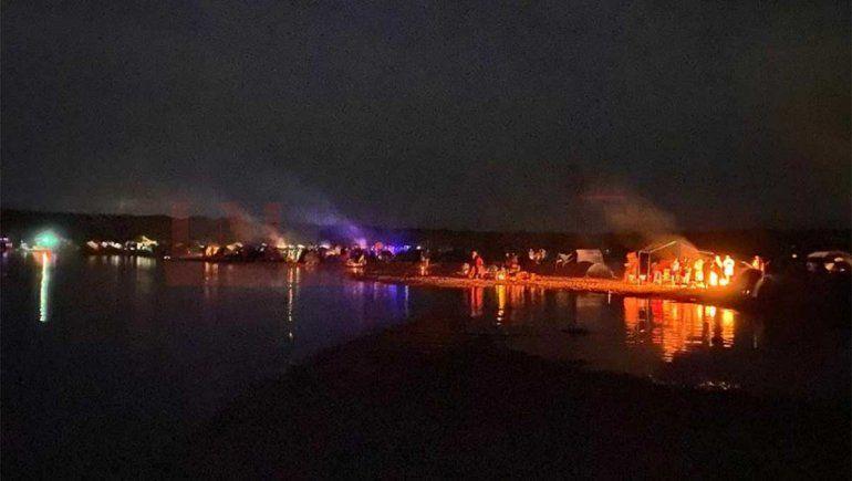 La Justicia inició una investigación por la fiesta clandestina del lago