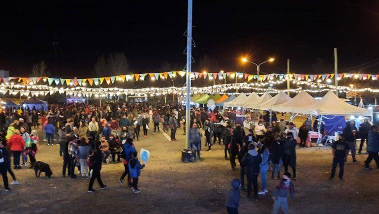 Un festival de sensaciones inundó San Patricio del Chañar