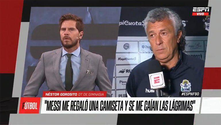 La frase de Gorosito sobre Messi que se volvió viral