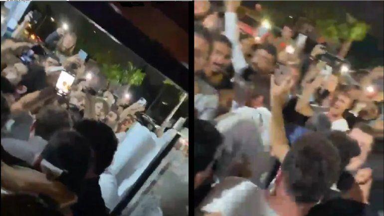 Lo vuelven loco: Messi fue al café de los Montaner y no lo dejaban salir